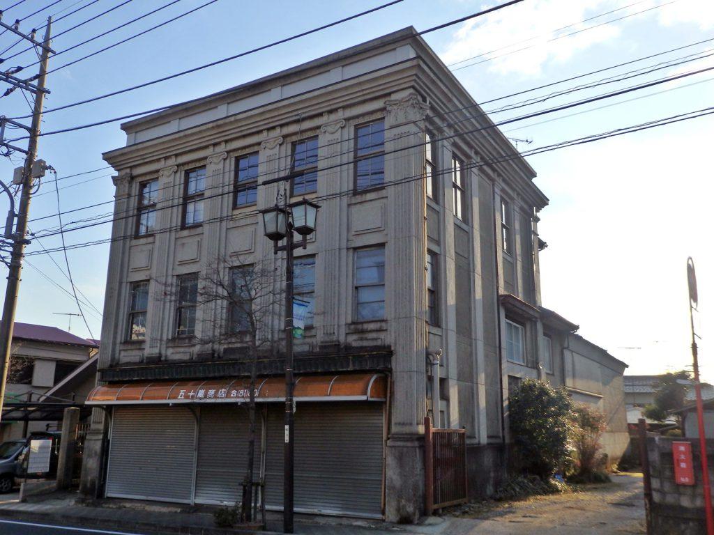 秦野市本町に残るレトロ建築