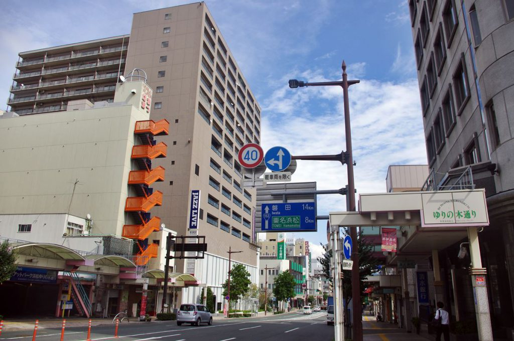 浜松市田町