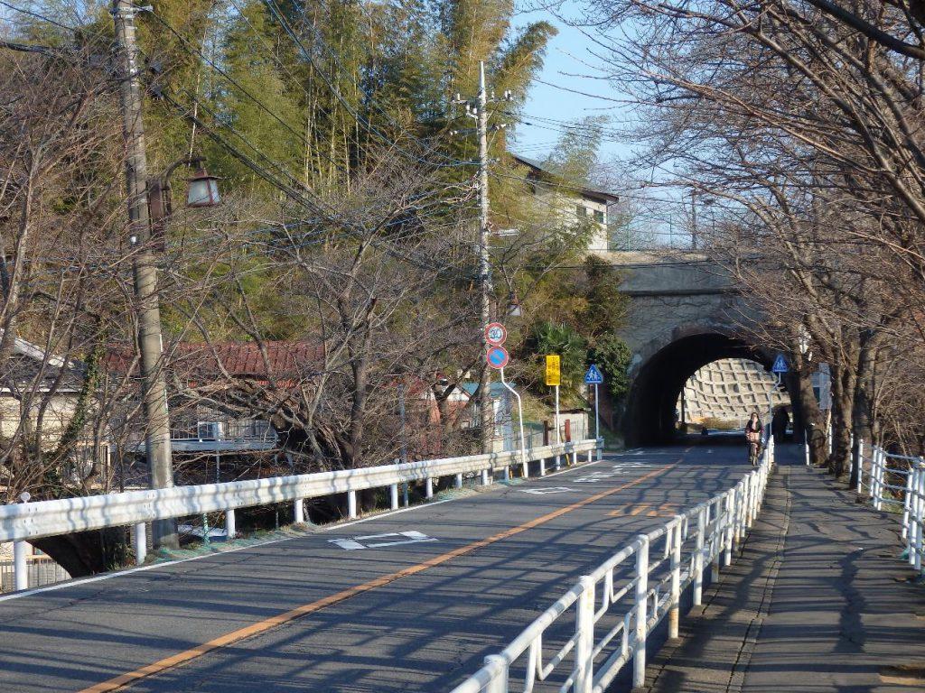 成田山・電車道