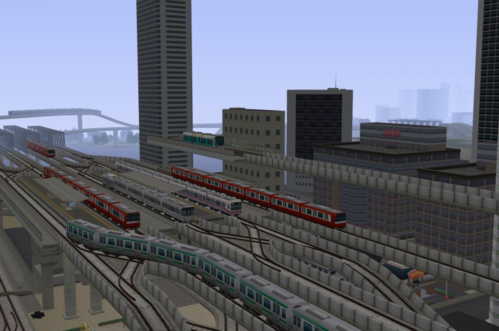 夕霧氏が「A列車で行こう8」で作ったまち ©ARTDINK CORPORATION