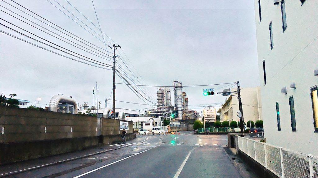 新居浜市内の工場
