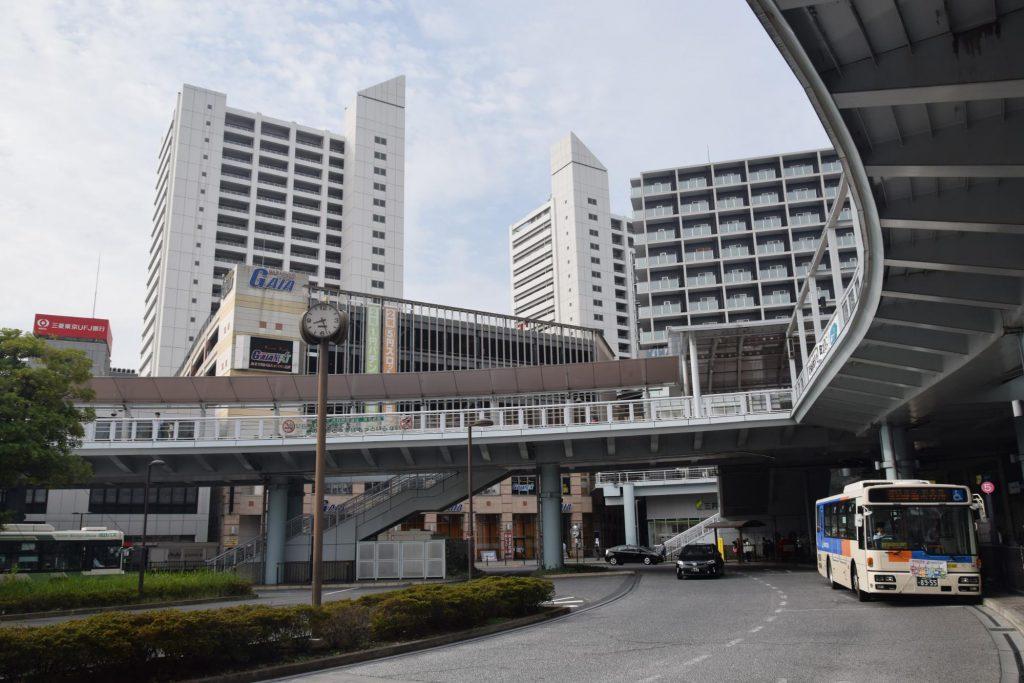 大規模な再開発が竣工する海老名駅(撮影:夕霧もや・2017年)