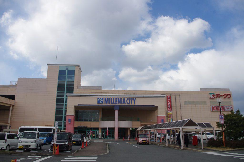 ミレニアシティは1978年に建てられた(2017年・鳴海行人)