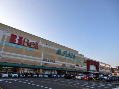 ショッピングセンター・ベルの現在の様子(撮影:鳴海行人・2017年)