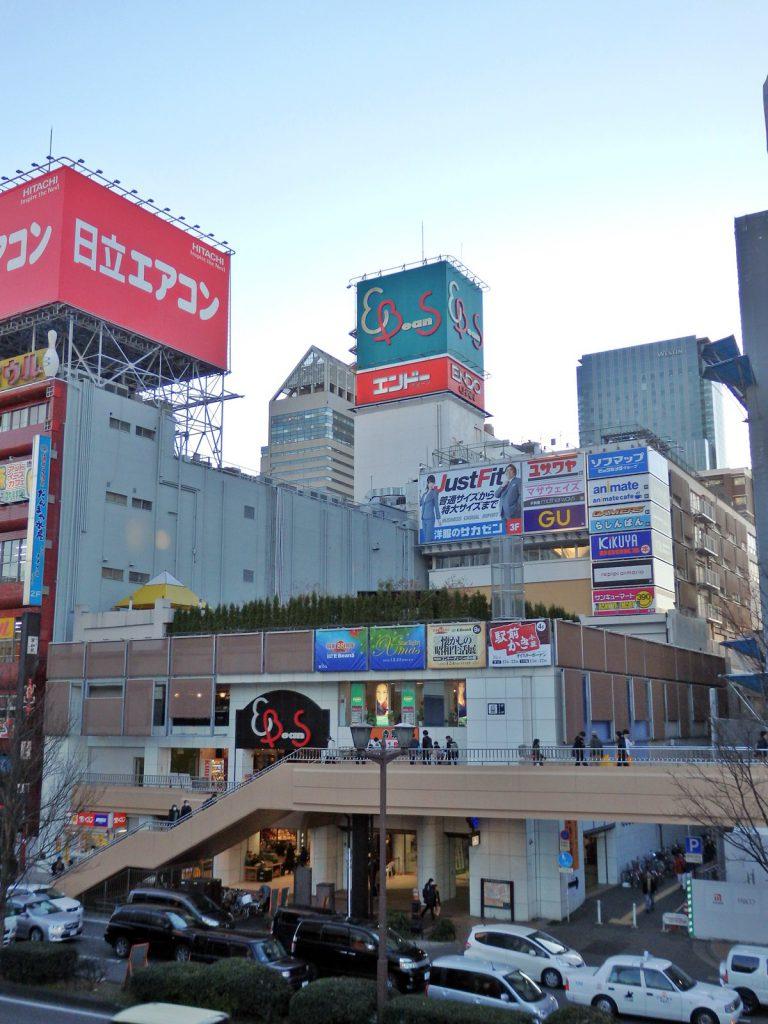 EBeanSは東日本大震災の影響で一部減築を行った (撮影:鳴海行人・2015年)